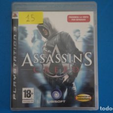 Videojuegos y Consolas: VIDEOJUEGO DE PLAYSTATION 3 PS3 ASSASSIN'S CREED AÑO 2007 Nº 15. Lote 263692670