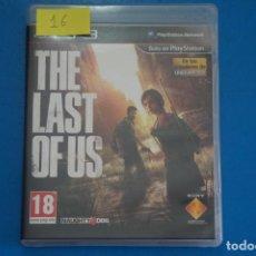 Videojuegos y Consolas: VIDEOJUEGO DE PLAYSTATION 3 PS3 THE LAST OF US AÑO 2013 Nº 16. Lote 263692950