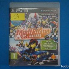 Videojuegos y Consolas: VIDEOJUEGO DE PLAYSTATION 3 PS3 MOD NATION RACERS AÑO 2010 Nº 19. Lote 263693715