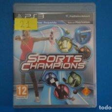 Videojuegos y Consolas: VIDEOJUEGO DE PLAYSTATION 3 PS3 SPORT CHAMPIONS AÑO 2010 Nº 21. Lote 263694045