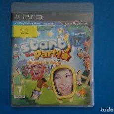Videojuegos y Consolas: VIDEOJUEGO DE PLAYSTATION 3 PS3 START THE PARTY EMPIEZA LA FIESTA AÑO 2010 Nº 22. Lote 263694150