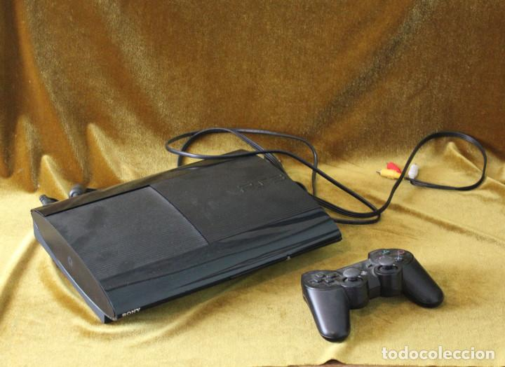 CONSOLA PS3 CON MANDO DUALSHOCK3 SIXAXIS. (Juguetes - Videojuegos y Consolas - Sony - PS3)