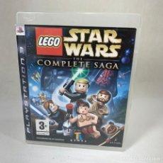 Videojuegos y Consolas: VIDEOJUEGO PLAY STATION 3 - PS3 - LEGO STAR WARS THE COMPLETE SAGA + CAJA. Lote 265787639
