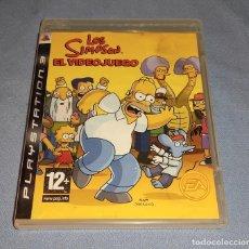Jeux Vidéo et Consoles: JUEGO LOS SIMPSON EL VIDEOJUEGO PARA PLAYSTATION 3. Lote 265930358