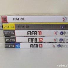 Jeux Vidéo et Consoles: LOTE 5 JUEGOS FIFA PS3. Lote 266944294