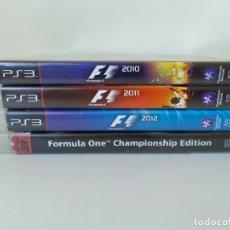 Jeux Vidéo et Consoles: LOTE 4 JUEGOS FÓRMULA 1 PS3. Lote 266944689