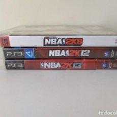 Jeux Vidéo et Consoles: LOTE 3 JUEGOS NBA PS3. Lote 266945094