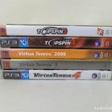 Jeux Vidéo et Consoles: LOTE 5 JUEGOS TENIS PS3. Lote 266945149
