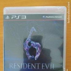 Videojogos e Consolas: PS3 RESIDENT EVIL 6 - CASTELLANO - COMPLETO - PLAYSTATION 3 (DU). Lote 267817339