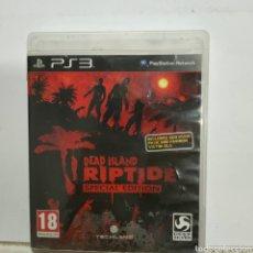 Jeux Vidéo et Consoles: REFPS3.178 DEAD ISLAND RIPTIDE JUEGO PLAYSTATION 3 SEGUNDAMANO. Lote 268298689