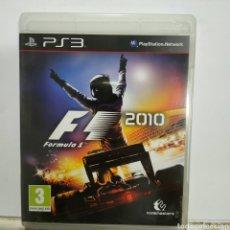 Jeux Vidéo et Consoles: REFPS3.190 FÓRMULA 1 2010 JUEGO PLAYSTATION 3 SEGUNDAMANO. Lote 268301004