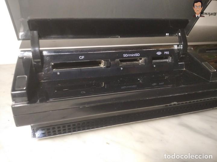 Videojuegos y Consolas: RETROCOMPATIBLE SONY PLAYSTATION 3 (FAT 60 GB) + 2 MANDOS + TARJETA 32 MB + CABLES - BUEN ESTADO PS3 - Foto 9 - 268735534