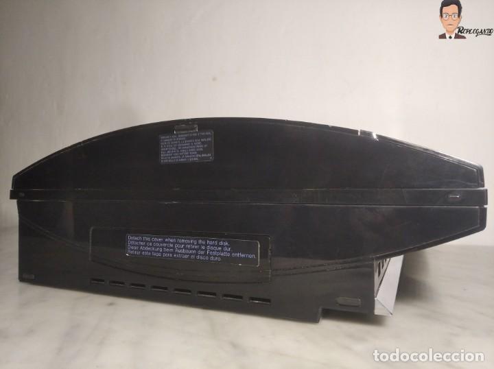 Videojuegos y Consolas: RETROCOMPATIBLE SONY PLAYSTATION 3 (FAT 60 GB) + 2 MANDOS + TARJETA 32 MB + CABLES - BUEN ESTADO PS3 - Foto 11 - 268735534