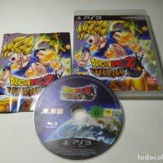 Videojuegos y Consolas: DRAGON BALL Z ULTIMATE TENKAICHI ( PS3 - PAL - ESP). Lote 268915434