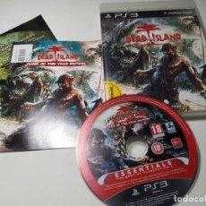 Videojuegos y Consolas: DEAD ISLAND ( PS3 - PAL - ESP). Lote 268915504