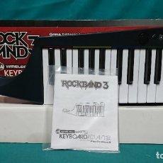 Videojuegos y Consolas: TECLADO, ROCK BAND 3, KEYBOARD, PLAYSTATION 3. Lote 268918499