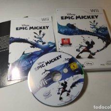 Videojuegos y Consolas: EPIC MICKEY ( DISNEY ) ( NINTENDO WII - WII U - PAL - ESP). Lote 268919039
