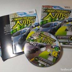 Videojuegos y Consolas: NEED FOR SPEED NITRO ( NINTENDO WII - WII U - PAL - ESP). Lote 268919059