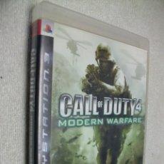 Videojuegos y Consolas: CALL OF DUTY 4: MODERN WARFARE PLAYSTATION 3. Lote 269136923