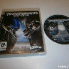 Videojuegos y Consolas: TRANSFORMERS THE GAME PLAYSTATION 3 PAL ESPAÑA. Lote 269163438