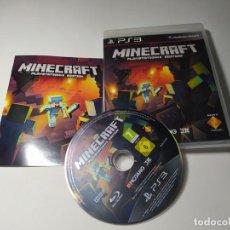 Videojuegos y Consolas: MINECRAFT ( PS3 - PLAYSTATION 3 - PAL - ESP). Lote 269578768