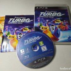 Videojuegos y Consolas: TURBO SUPER STUNT SQUAD ( PS3 - PLAYSTATION 3 - PAL - ESP). Lote 269579593