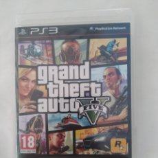 Videojuegos y Consolas: PS3 GRAND THEFT AUTO V, IDIOMA INGLÉS,COMO NUEVO. Lote 269780868