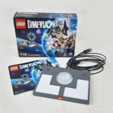 Videojuegos y Consolas: CAJA CON JUEGO DE LEGO DIMENSIONS MÁS INSTRUCCIONES PARA PS3. PLAYSTATION. Lote 270168733