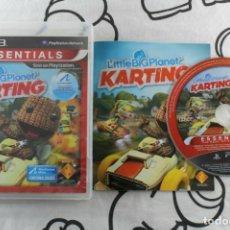 Videojuegos y Consolas: PLAY STATION 3 PS3 LITTLE BIG PLANET KARTING ESSENTIA BUEN ESTADO PAL ESPAÑA. Lote 270571433