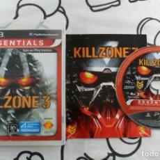 Videojuegos y Consolas: PLAY STATION 3 PS3 KILLZONE 3 ESSENTIALS PAL ESPAÑA. Lote 270571913