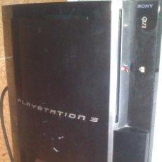 Videojuegos y Consolas: CONSOLA SONY PLAYSTATION 3 MODELO 80 GB CON EL CABLEADO ENCIENDE SIN PROBAR. Lote 268163254