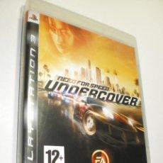 Videojuegos y Consolas: PS3 UNDERCOVER CON LIBRETO Y DISCO (BUEN ESTADO). Lote 272302588