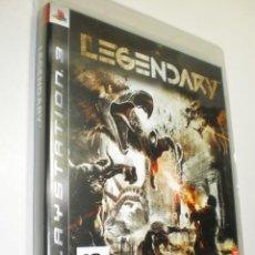 Videojuegos y Consolas: PS3 LEGENDARY CON LIBRETO Y DISCO (BUEN ESTADO). Lote 272326108