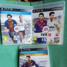 Videojuegos y Consolas: LOTE JUEGO PS3 FIFA. Lote 273524048