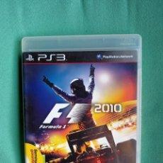 Videojuegos y Consolas: JUEGO PS3 FORMULA 2010. Lote 273524353
