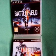 Videojuegos y Consolas: LOTE BATTLEFIELD 3 Y 4 PS3. Lote 273526558
