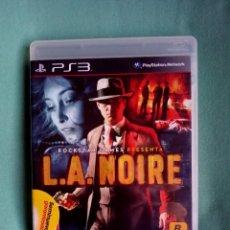 Videojuegos y Consolas: LA NOIRE PS3. Lote 273527013