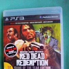 Videojuegos y Consolas: RED DEAD REDEMPTION PS3. Lote 273527378