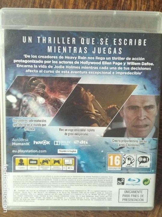 Videojuegos y Consolas: BEYOND, DOS ALMAS - JUEGO PAL - FUNCIONANDO - PS3 PLAYSTATION 3 - Foto 3 - 276302398