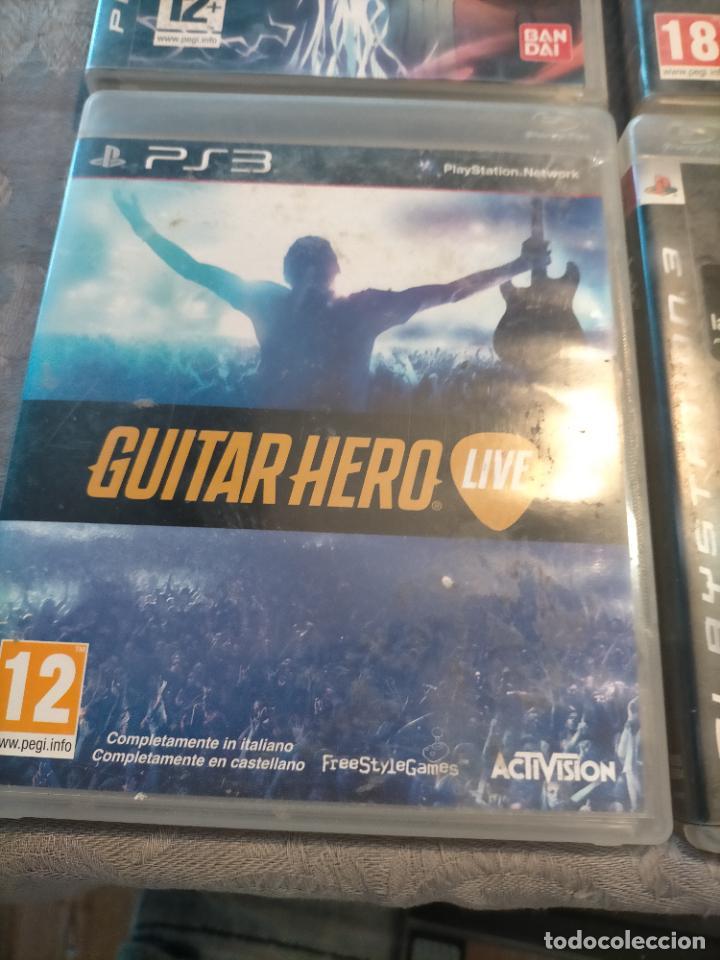 Videojuegos y Consolas: PACK DE PLAYSTATION 3 LAIR GUITAR HERO CALL OF DUTY BLACK OPS II NARUTO NINJA Y FIFA 15 DE XBOX ONE - Foto 3 - 276571173