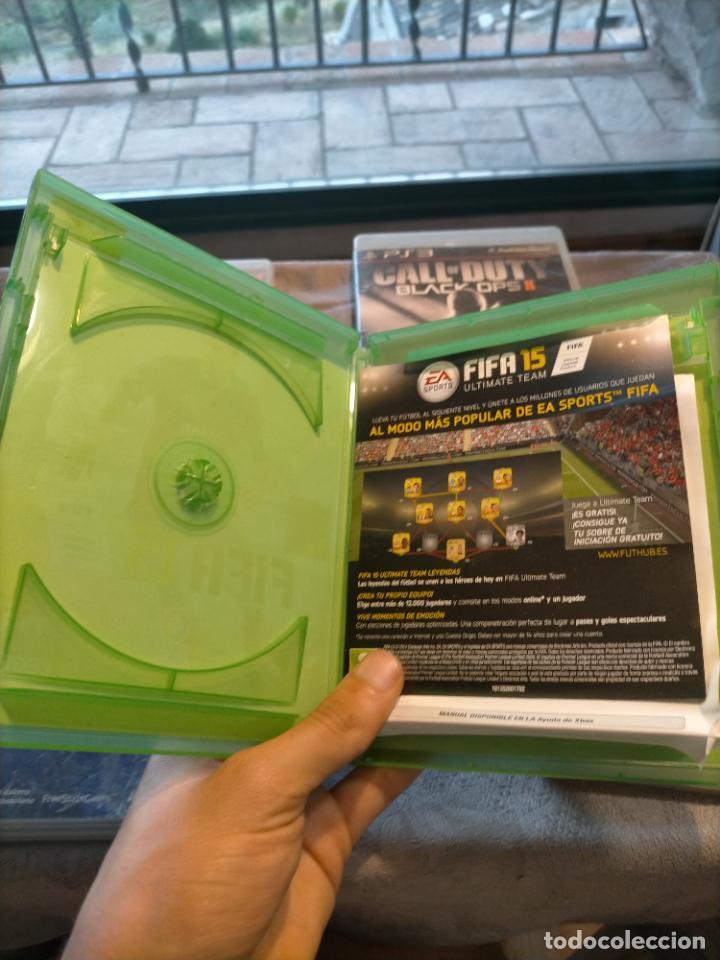 Videojuegos y Consolas: PACK DE PLAYSTATION 3 LAIR GUITAR HERO CALL OF DUTY BLACK OPS II NARUTO NINJA Y FIFA 15 DE XBOX ONE - Foto 5 - 276571173
