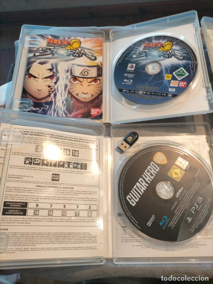 Videojuegos y Consolas: PACK DE PLAYSTATION 3 LAIR GUITAR HERO CALL OF DUTY BLACK OPS II NARUTO NINJA Y FIFA 15 DE XBOX ONE - Foto 6 - 276571173