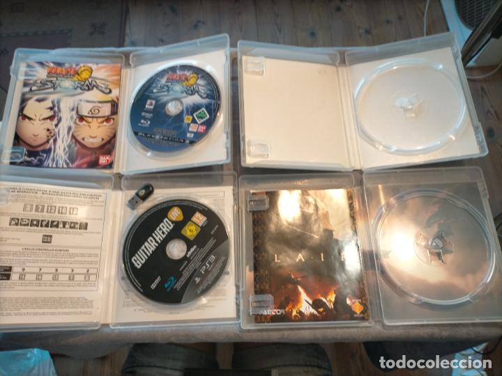 Videojuegos y Consolas: PACK DE PLAYSTATION 3 LAIR GUITAR HERO CALL OF DUTY BLACK OPS II NARUTO NINJA Y FIFA 15 DE XBOX ONE - Foto 8 - 276571173