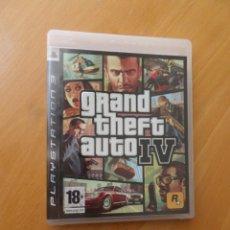 Videojuegos y Consolas: GRAND THEFT AUTO IV / GTA 4 - PLAYSTATION 3 / PLAY STATION 3 - Y MAS VIDEO-JUEGOS. Lote 276792313