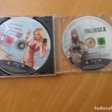 Videojuegos y Consolas: GRAND THEFT AUTO V / GTA 5 + FINAL FANTASY XIII PLAYSTATION 3 / PLAY STATION 3 - Y MAS VIDEO-JUEGOS. Lote 276793598