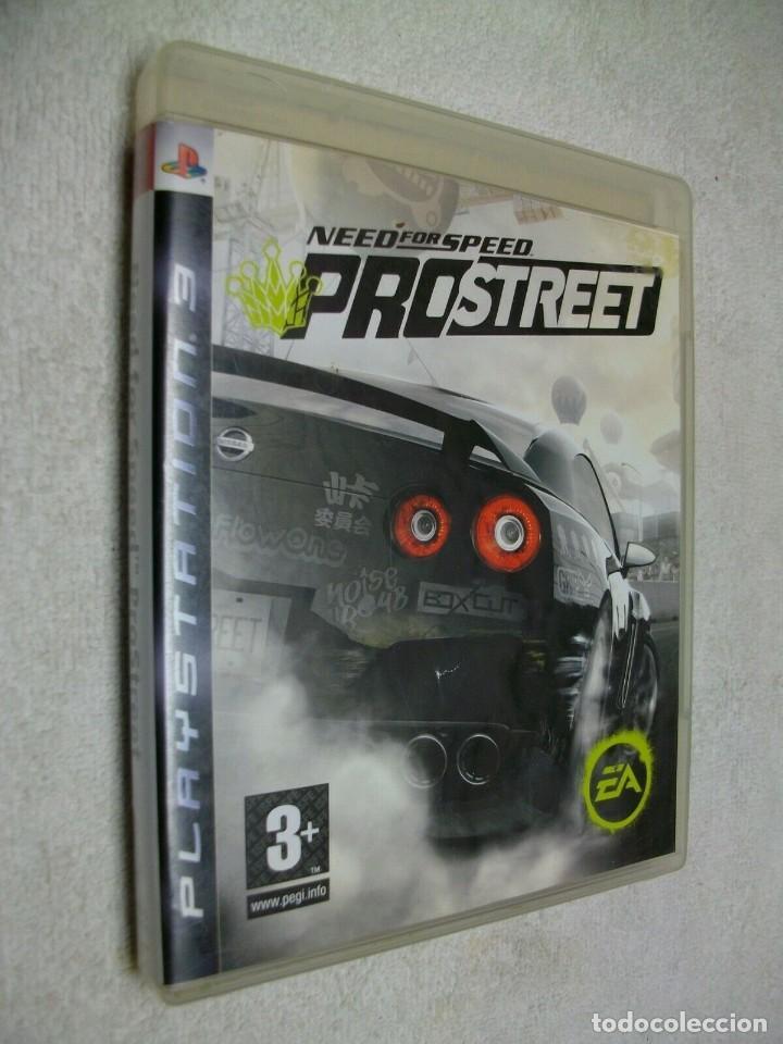 NEED FOR SPEED PROSTREET JUEGO PARA PS3 (Juguetes - Videojuegos y Consolas - Sony - PS3)