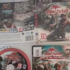 Videojuegos y Consolas: DEAD ISLAND PLAYSTATION 3 (PS3) PAL ESPAÑA COMPLETO. Lote 277847578
