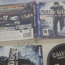 Videojuegos y Consolas: CALL OF DUTY WORLD AT WAR / FISICO / PAL ESPAÑA / PLAYSTATION 3. Lote 277847863