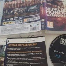 Videojuegos y Consolas: MEDAL OF HONOR WARFIGHTER. . PS3. FISICO. PAL ESPAÑA. *ENVIO CERTIFICADO* USADO. Lote 277848173