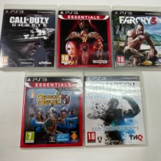 Videojuegos y Consolas: LOTE DE 5 JUEGOS PARA LA PS3.. Lote 278688158